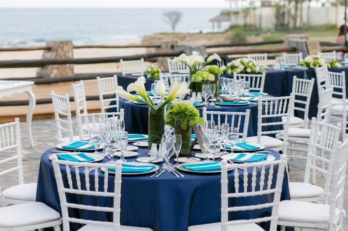 Cabo beach wedding decor