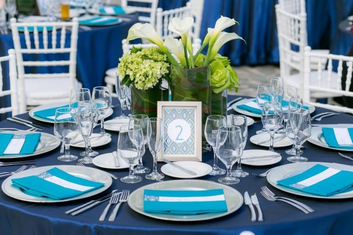Cabo modern wedding decor