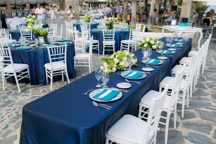 Cabo wedding decor
