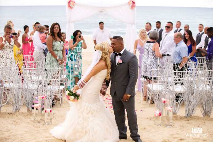 Cabo Indian beach wedding