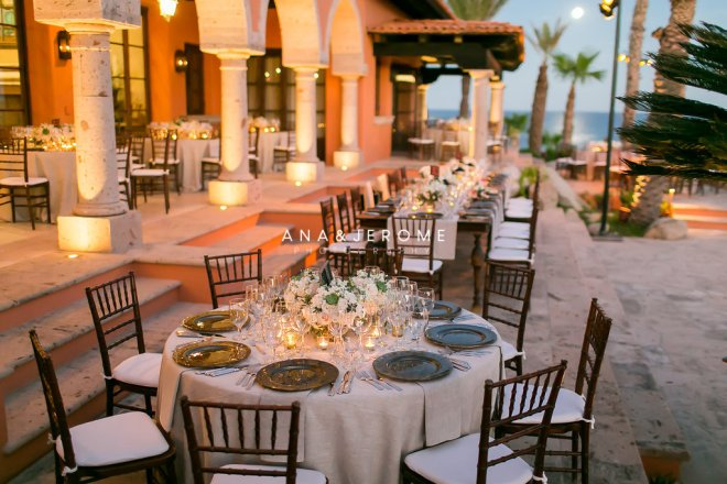 Cabo wedding decor