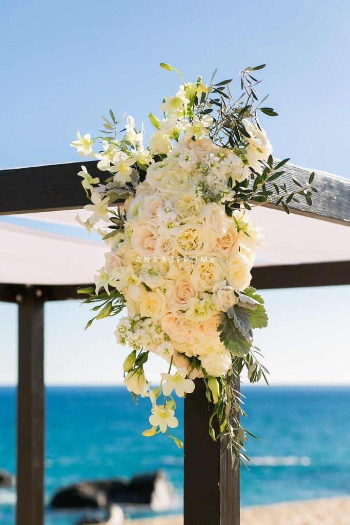 Cabo wedding arch