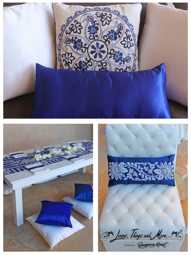 Blue -Pillows-cabo-wedding-beach-private-villa