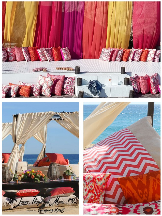 Indian-eyecat colorful pillow- Wedding-pillows-Cabo-linens-beach