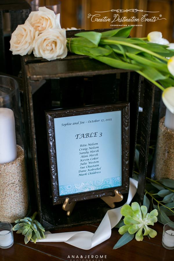 Sophie&Joe-wedding-beach---suzanne-morel-cabo-floral-studio-entrance-table