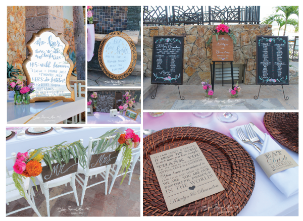 Lettering-in-your-event-los-cabos-wedding-decor-calligraphy