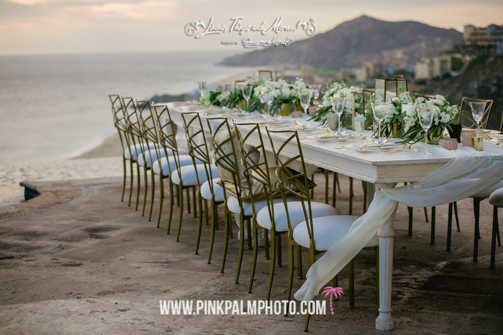 Private Villa Cabo Wedding | Photography by Pink Palm Photo www.pinkpalmphoto.com | Planning & Design by Creative Destination Events | Hair & Makeup by Suzanne Morel | Flowers by Cabo Floral Studio